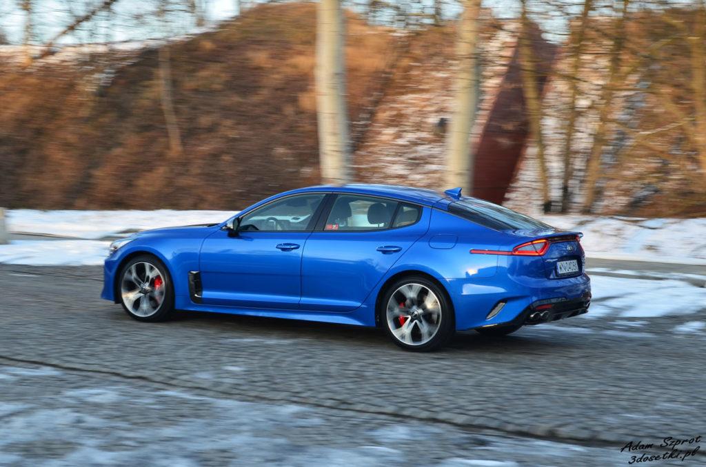 Kia Stinger GT 3,3l V6 bardzo dobrze się prowadzi