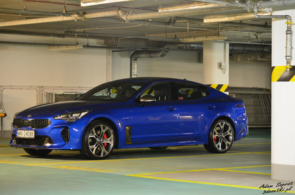 Test samochodu Kia Stinger GT 3,3l V6
