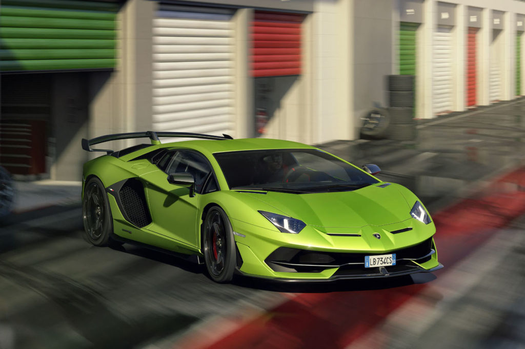 Lamborghini Aventador SVJ - opisy aut wielu marek