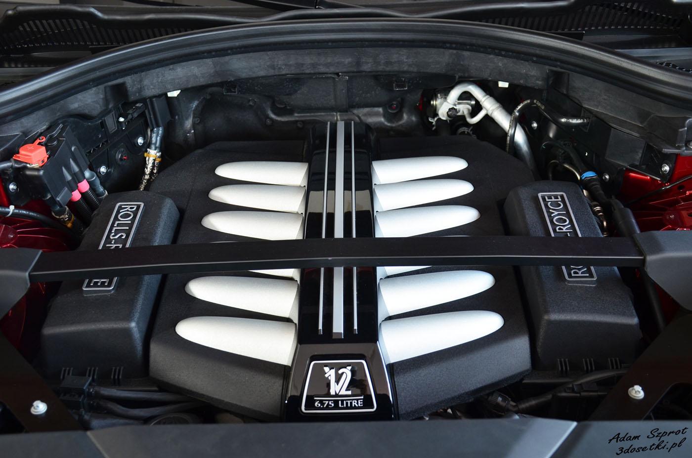 Polska premiera Rolls-Royce Cullinan - silnik