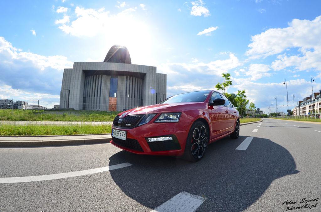 Test Skody Octavii RS 245, blog motoryzacyjny