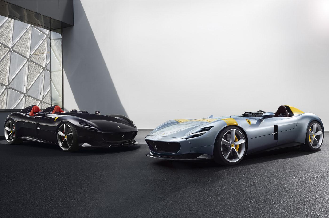 Premiera Ferrari Monza SP1 SP2, blog o motoryzacji
