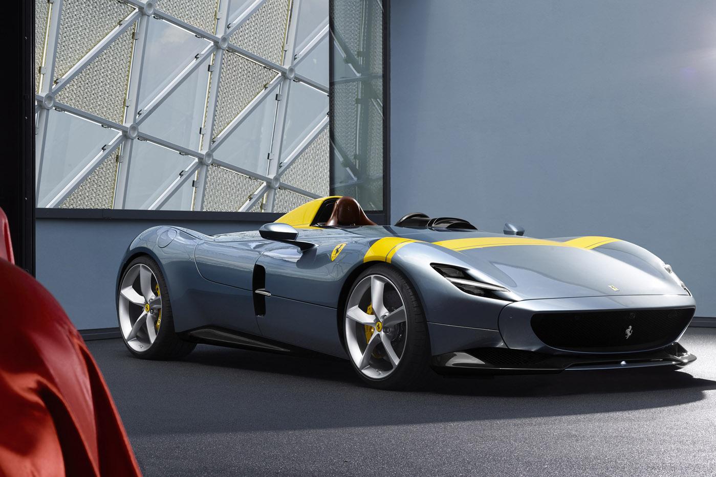 Premiera Ferrari Monza SP1