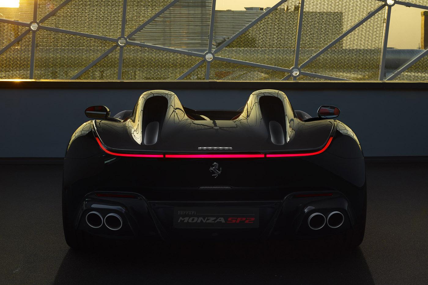 Ferrari Monza SP2 - premiera