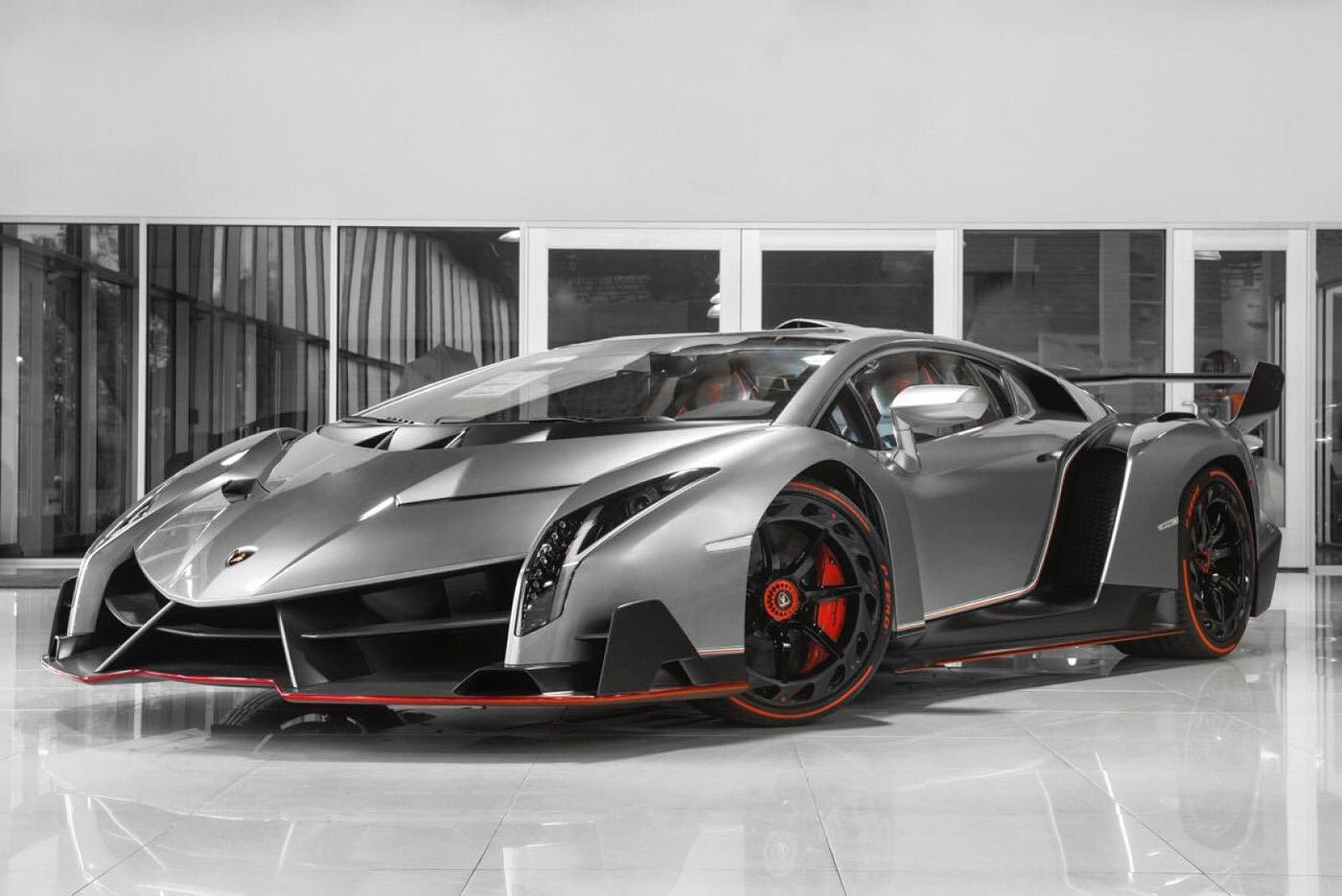 Lamborghini Veneno Coupe, strona o motoryzacji