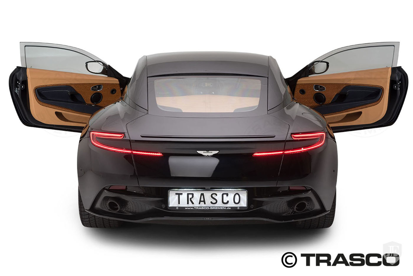 Pierwszy opancerzony Aston Martin DB11, blog motoryzacjny