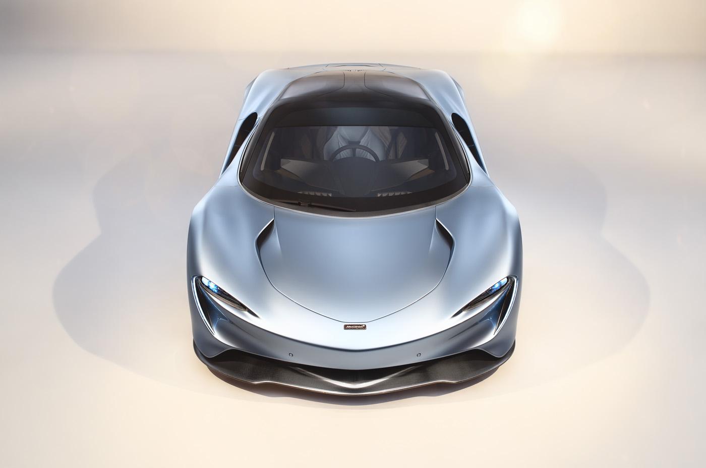 McLaren Speedtail - premiera, blog motoryzacyjny