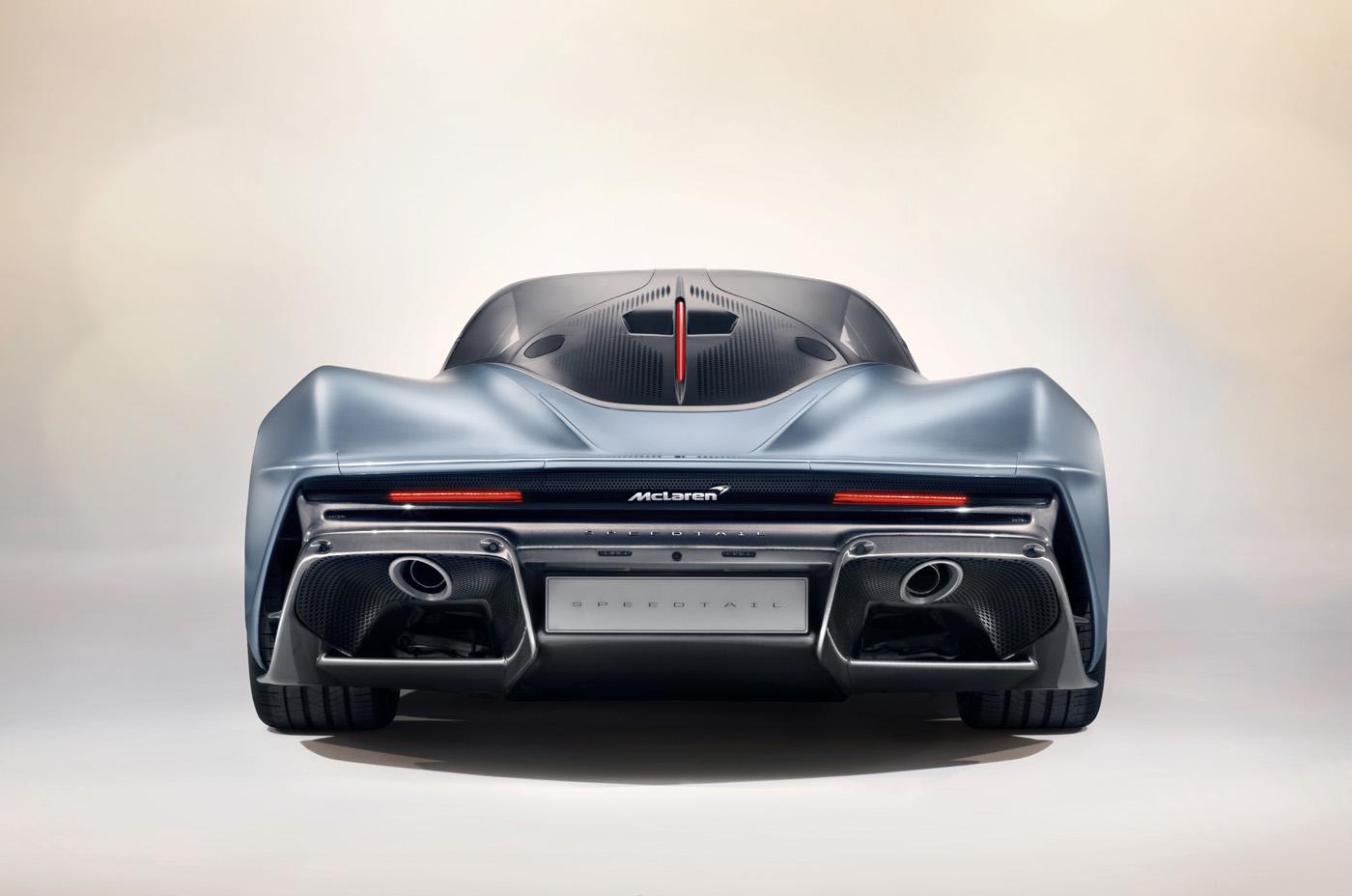 Premiera McLaren Speedtail