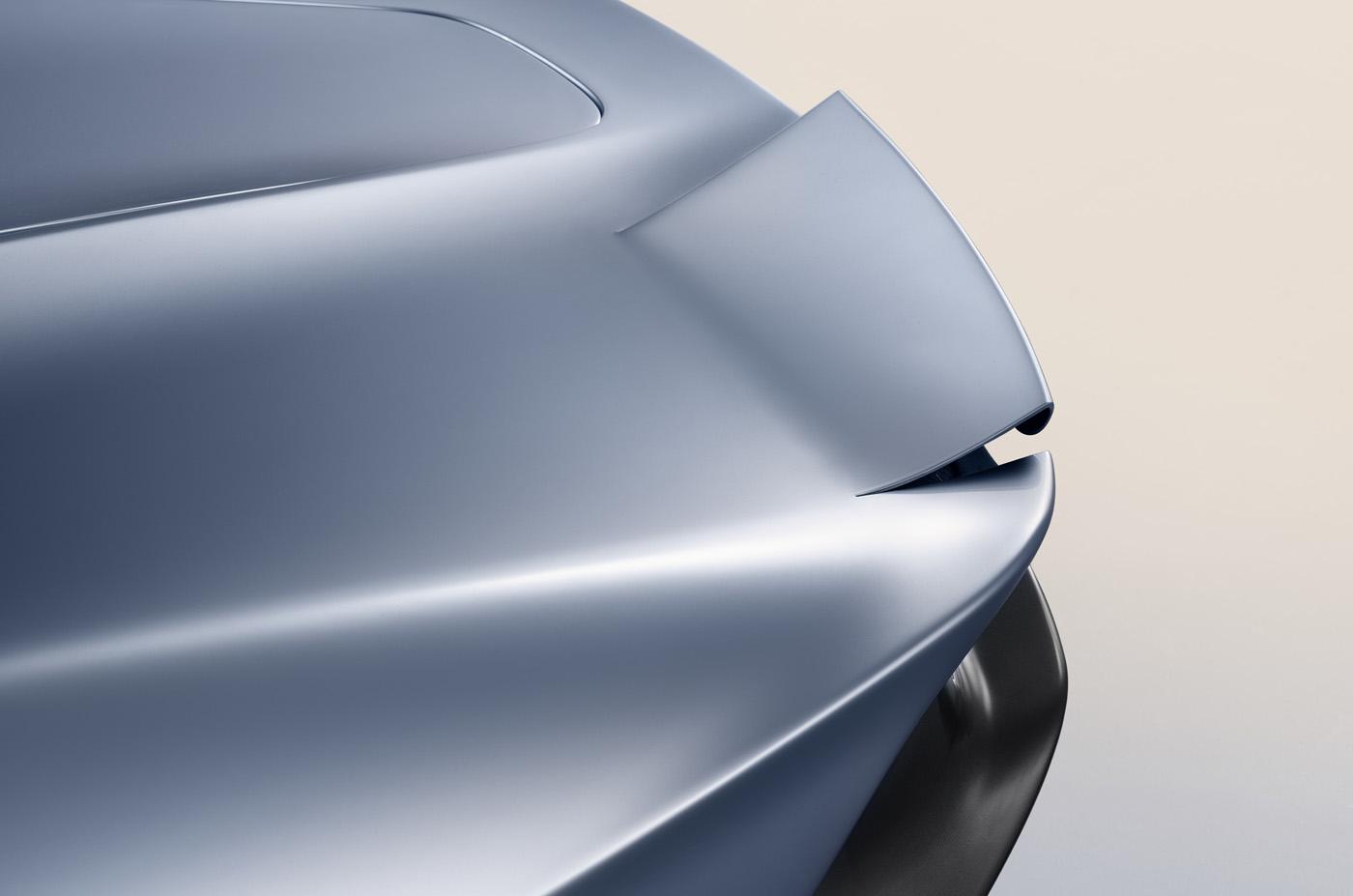 Niesamowite spojlery w samochodzie McLaren Speedtail