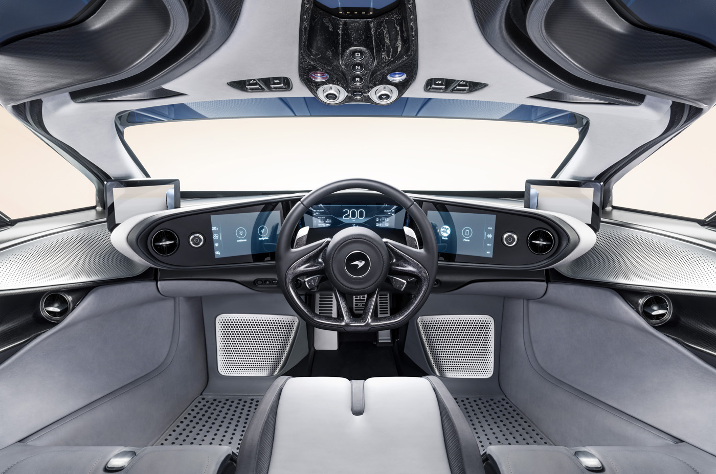 Wnętrze McLaren Speedtail