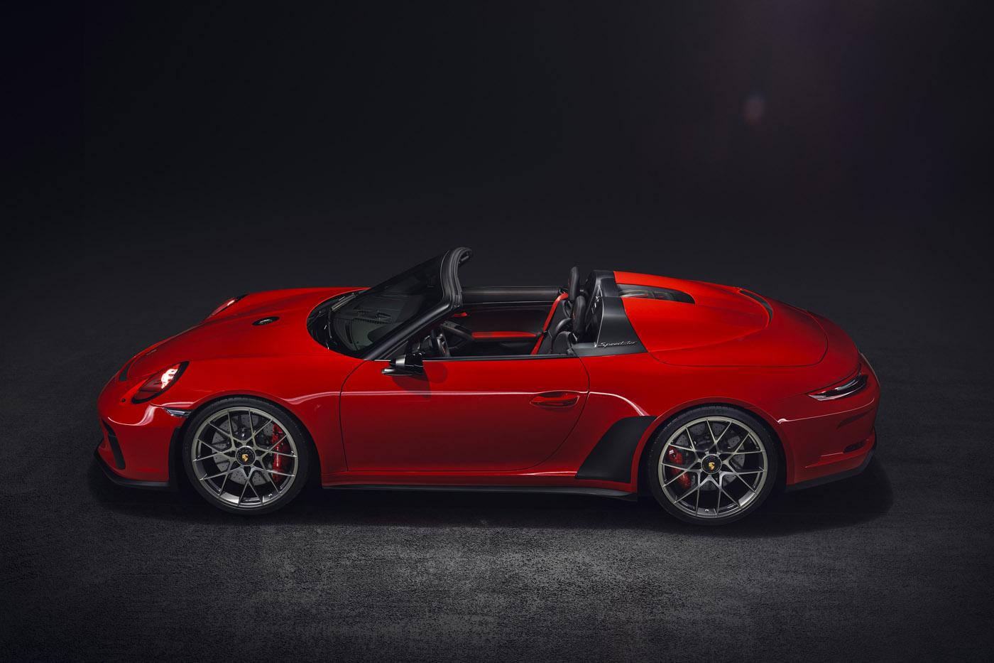 Porsche Speedster 2018 Concept, strona o samochodach