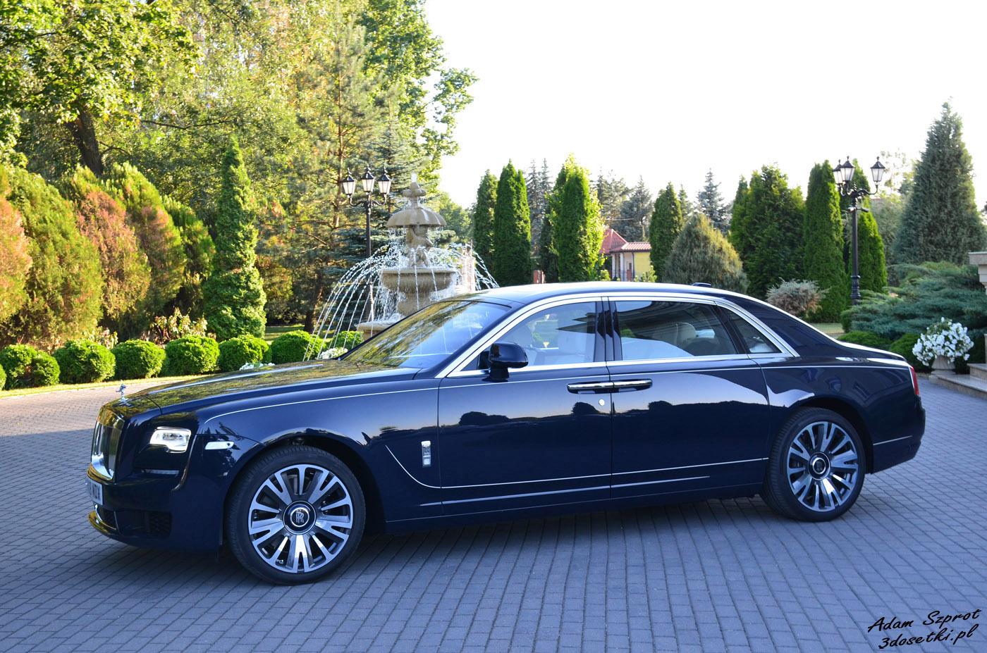Test samochodu Rolls-Royce Ghost EWB, blog motoryzacyjny