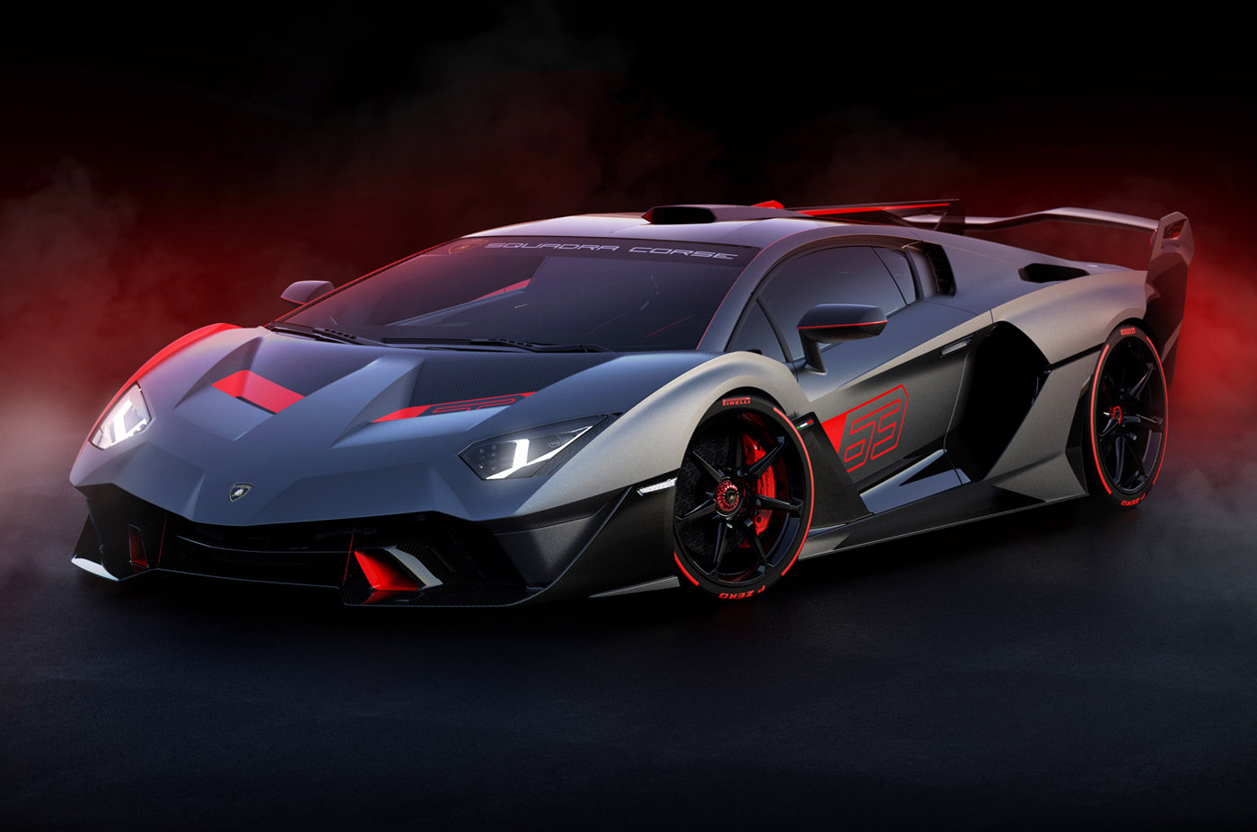 Lamborghini SC18 Alston, strona o motoryzacji