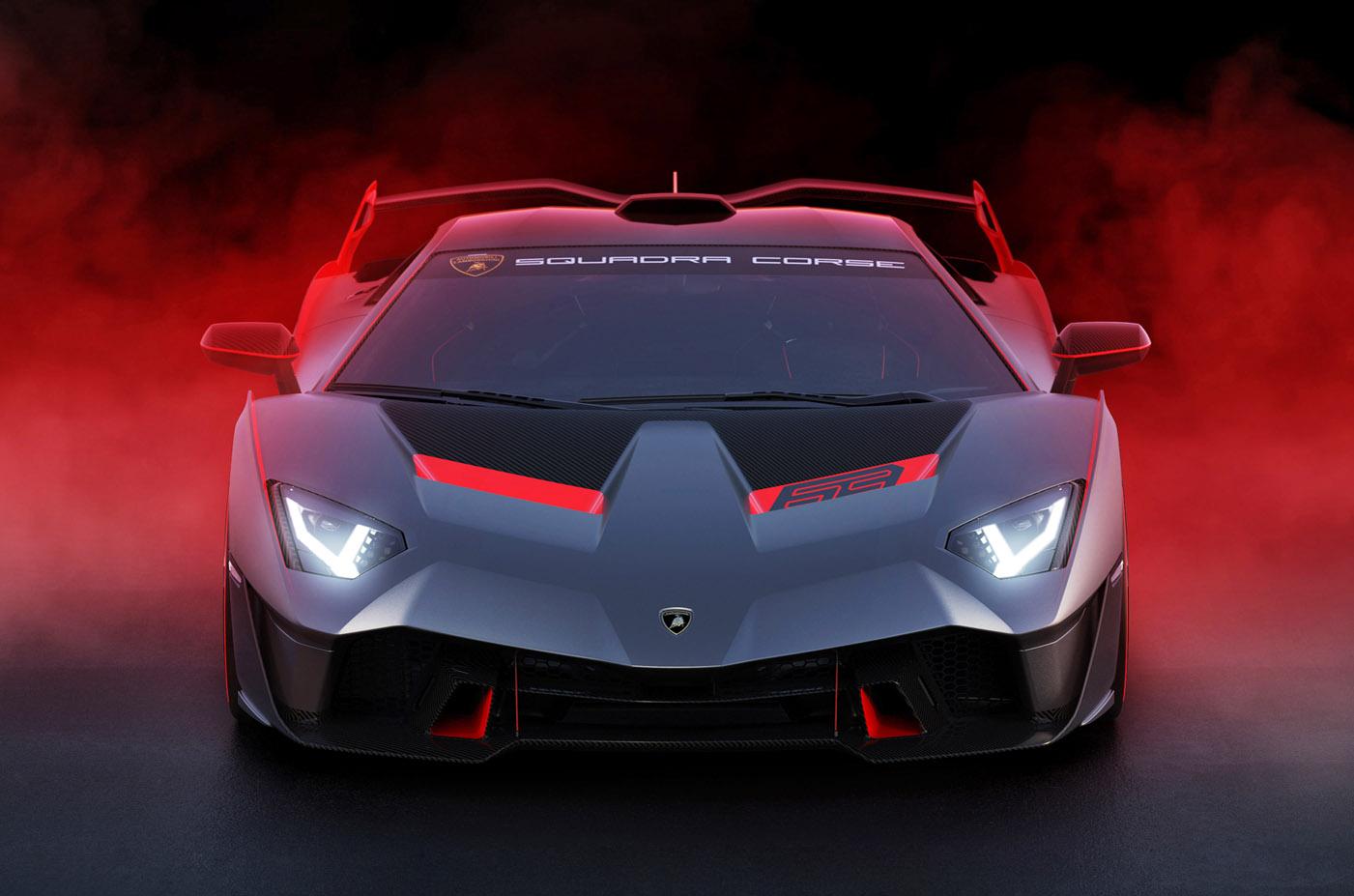 Lamborghini SC18 Alston, blog motoryzacyjny