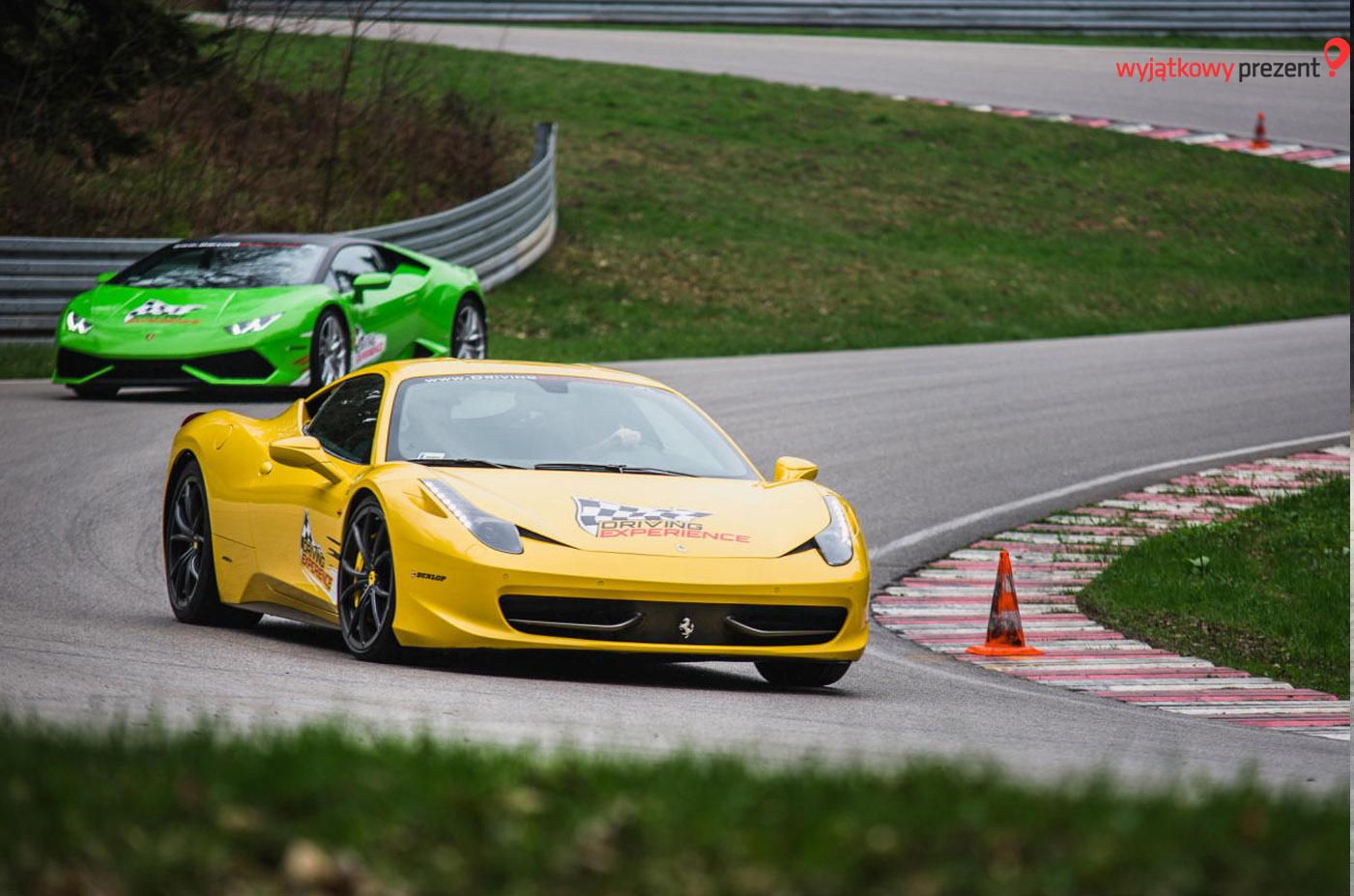 Ferrari 458 Italia i Lamborghini Huracan od wyjatkowyprezent.pl