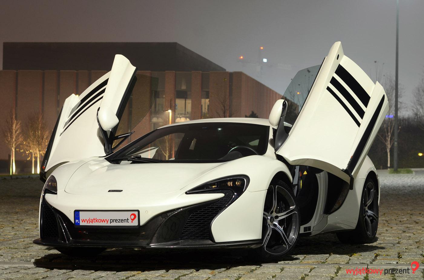 McLaren 650S od wyjatkowyprezent.pl