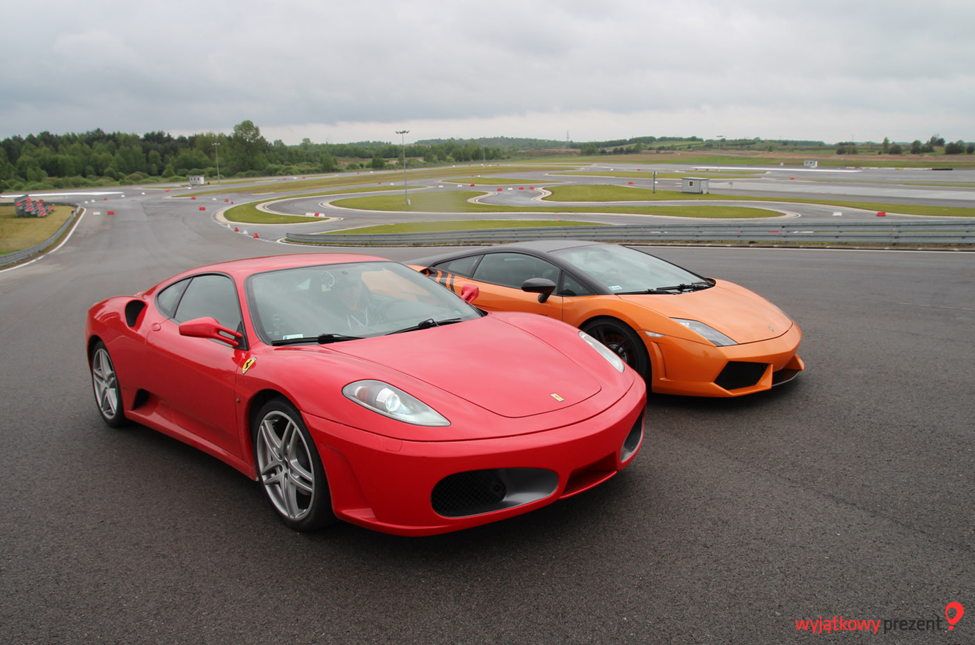 Ferrari 460 Modena i Lamborghini Gallardo od wyjatkowyprezent.pl