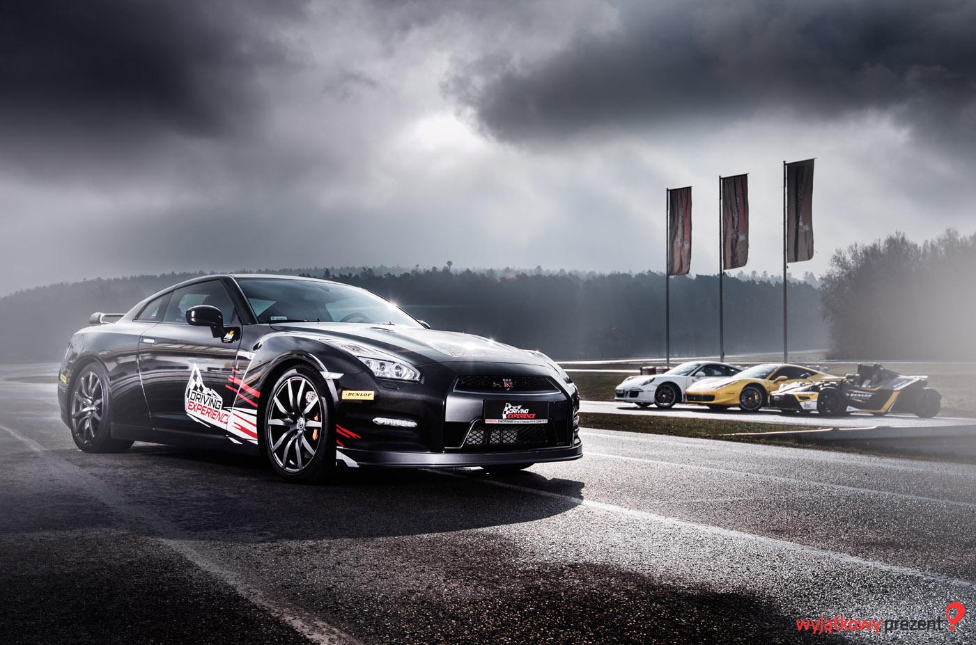 Nissan GTR od wyjatkowyprezent.pl