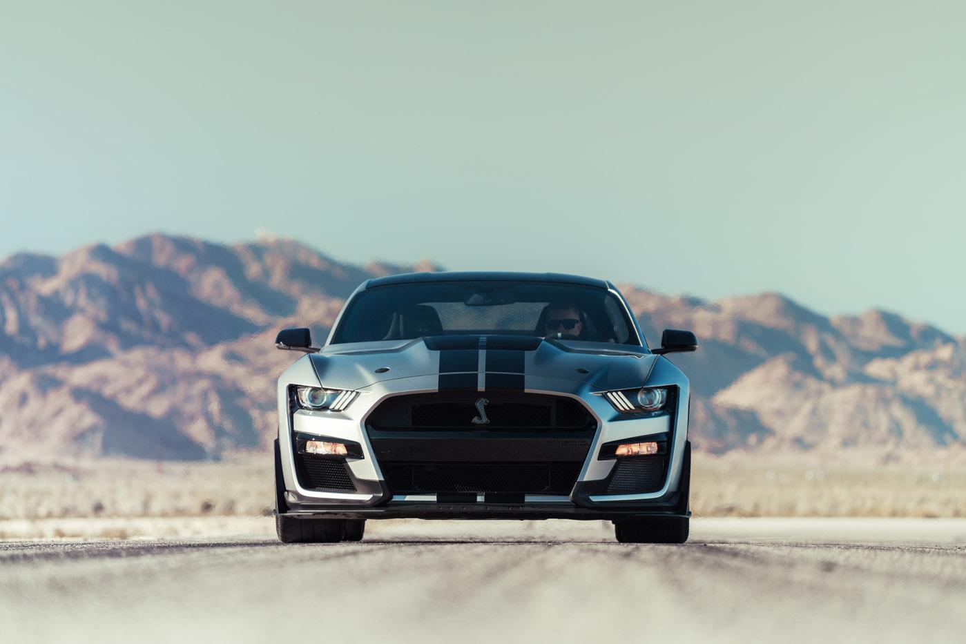 Ford Mustang Shelby GT500 - premiera, blog motoryzacyjny