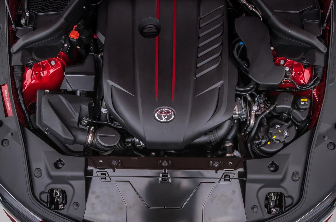 Premiera - Toyota GR Supra - silnik