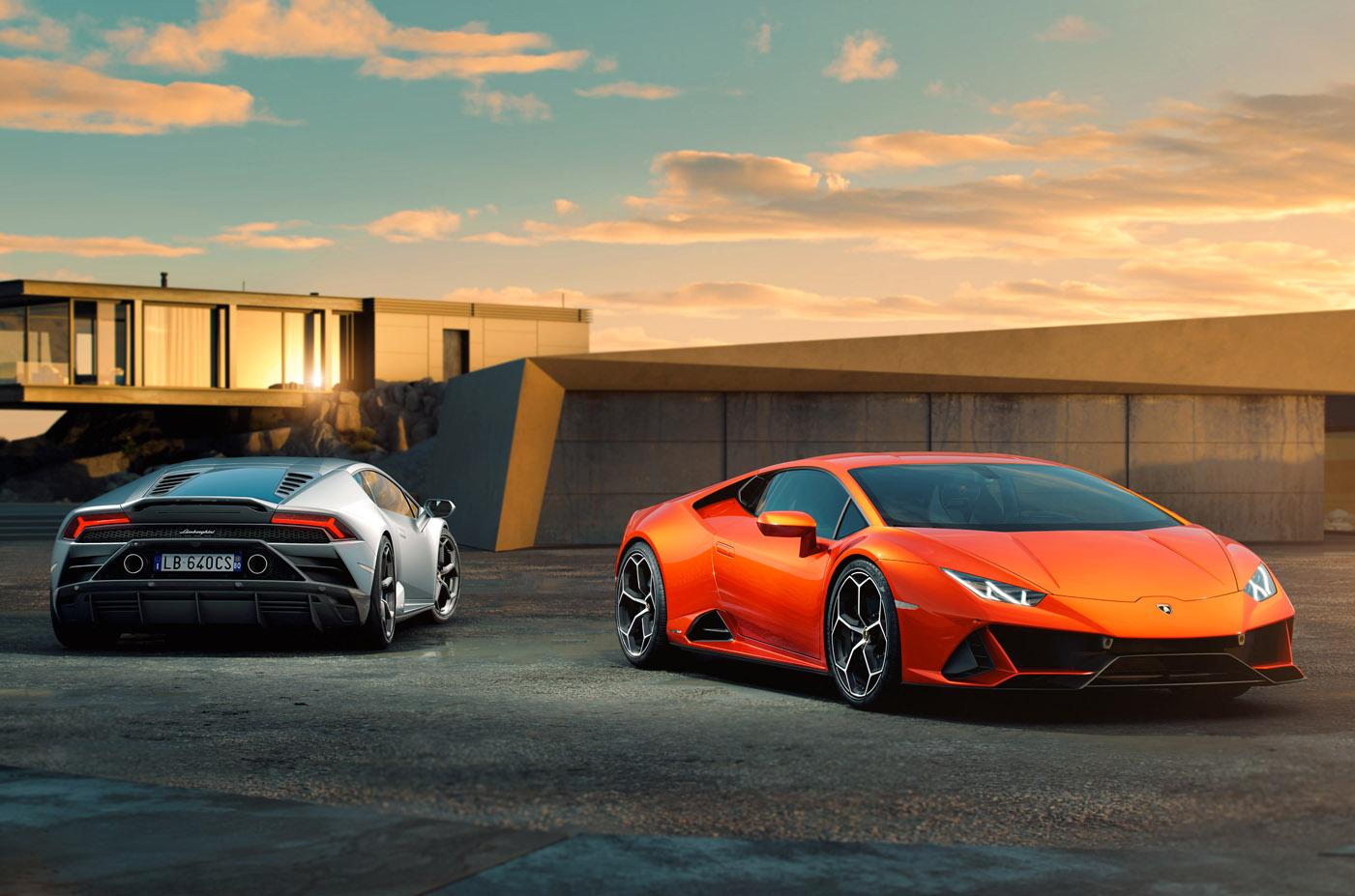 Premiera Lamborghini Huracan EVO