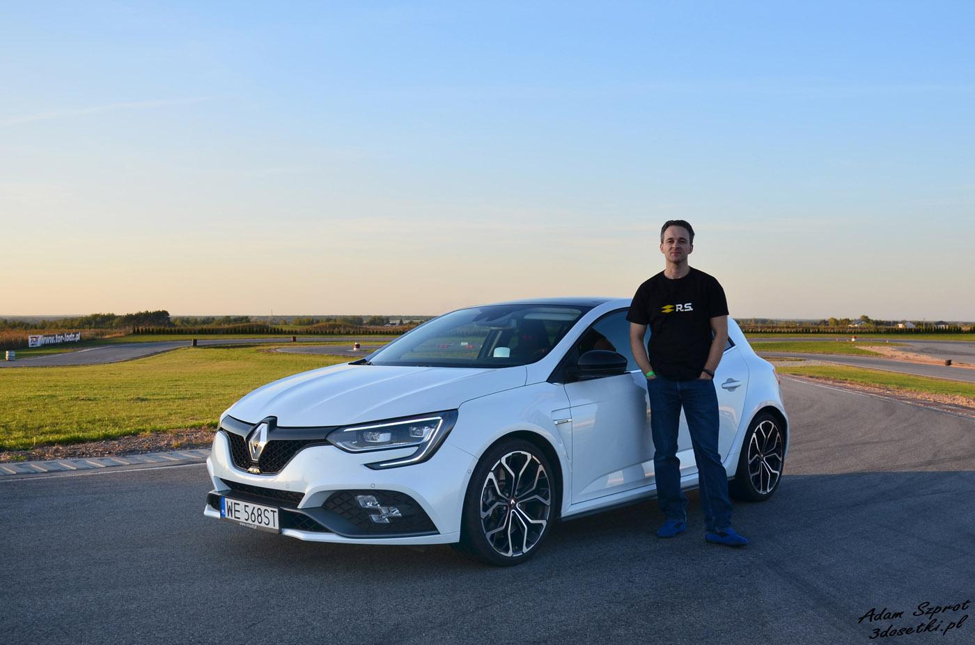 Renault Megane RS - testuje Adam Szprot