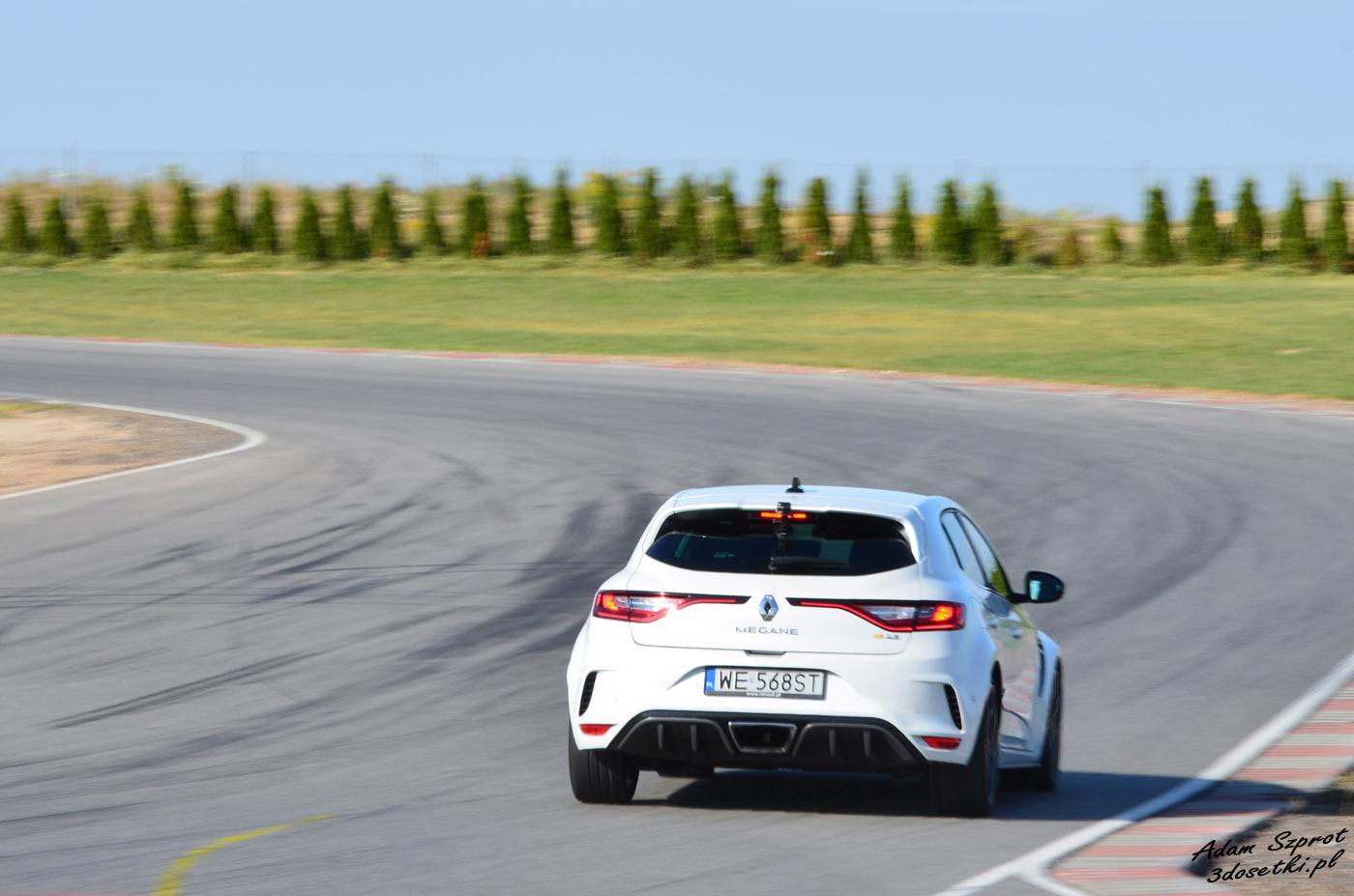 Renault Megane RS - testowane na torze