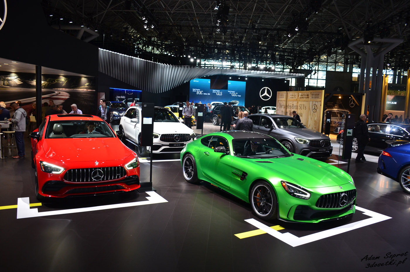 New York Auto Show 2019 - stoisko Mercedesa