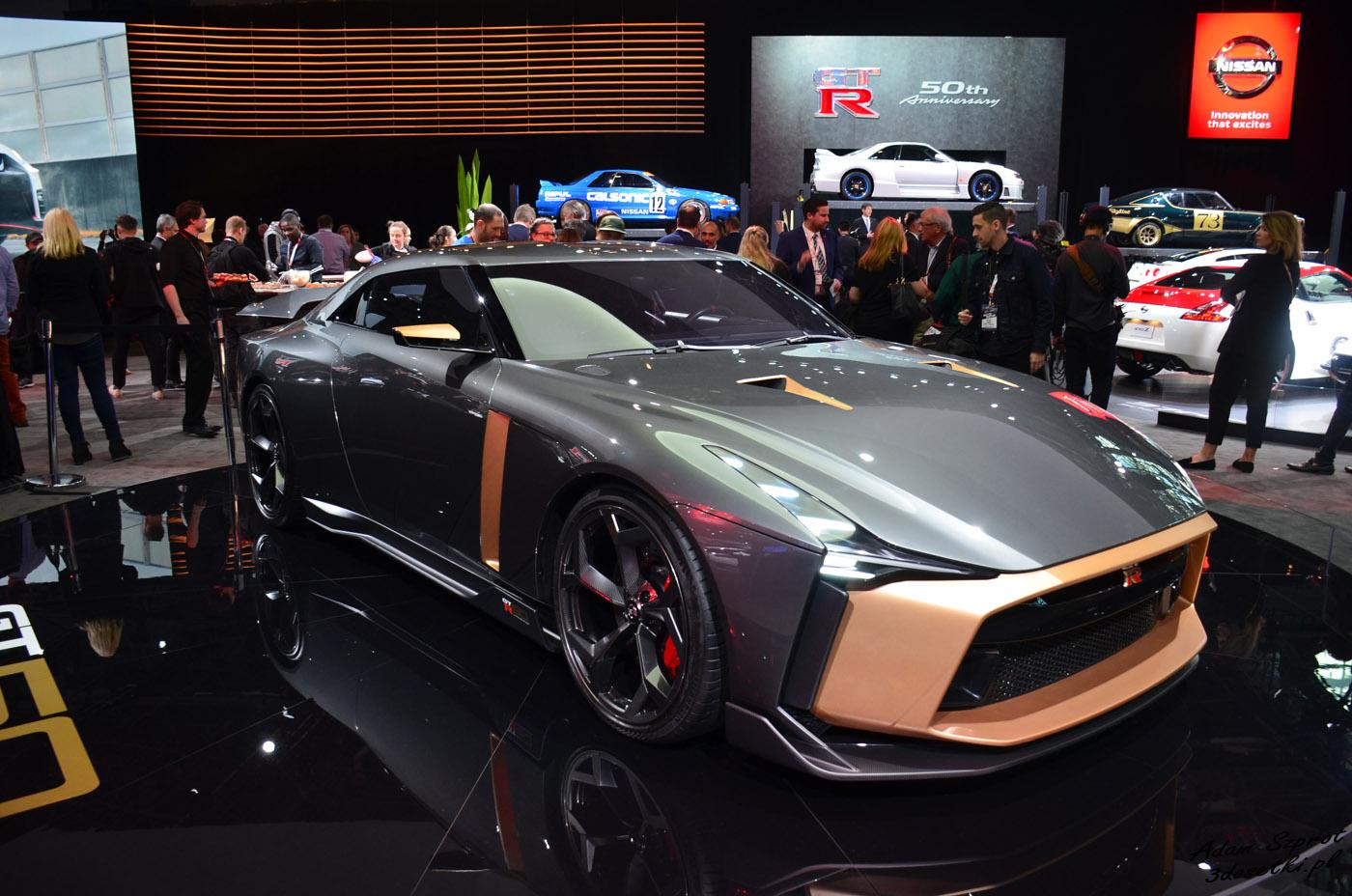 Relacja z targów w Nowym Jorku 2019 - Nissan GT-R 50