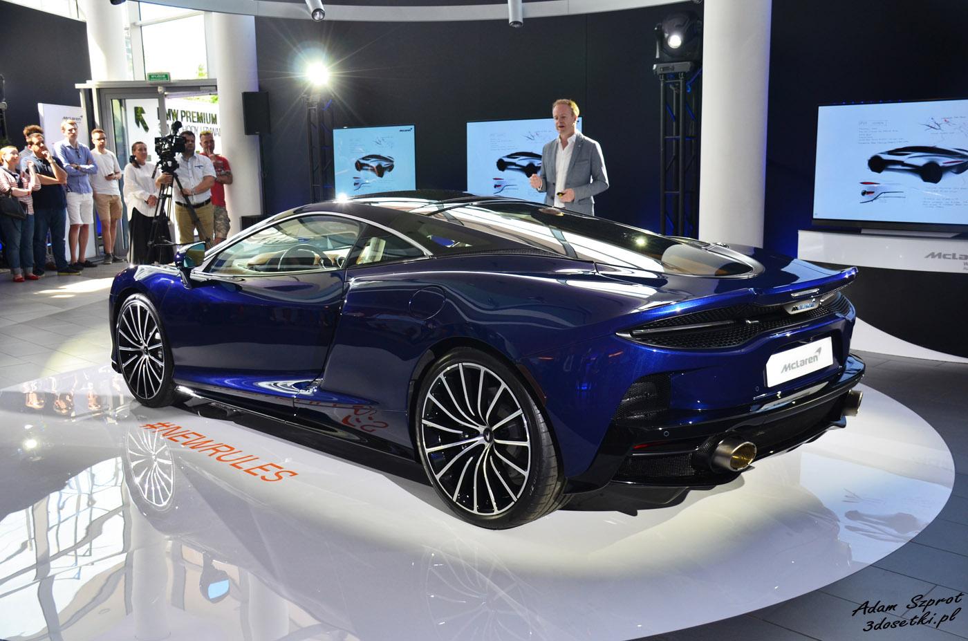 Premiera McLarena GT - strona motoryzacyjna, blog motoryzacyjny