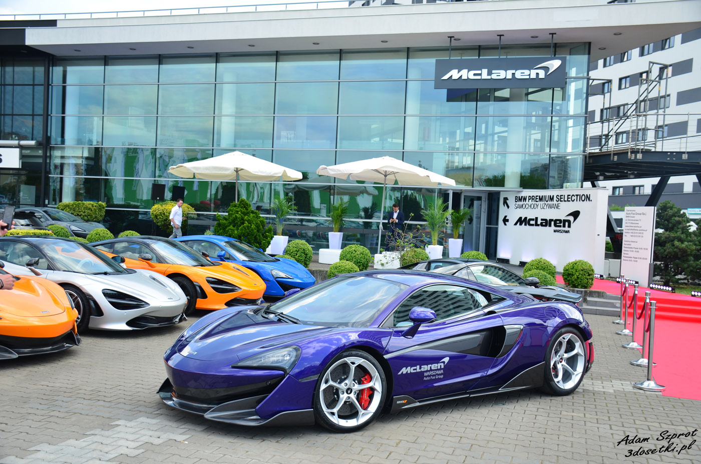 Salon McLarena Auto Fus
