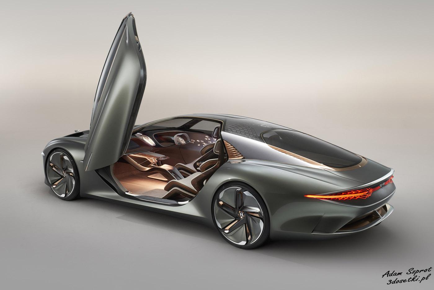 Bentley EXP 100 GT - samochód koncepcyjny, blog motoryzacyjny
