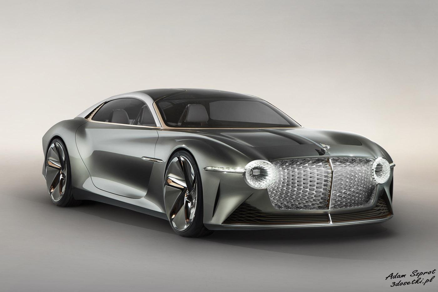Bentley EXP 100 GT - samochód koncepcyjny