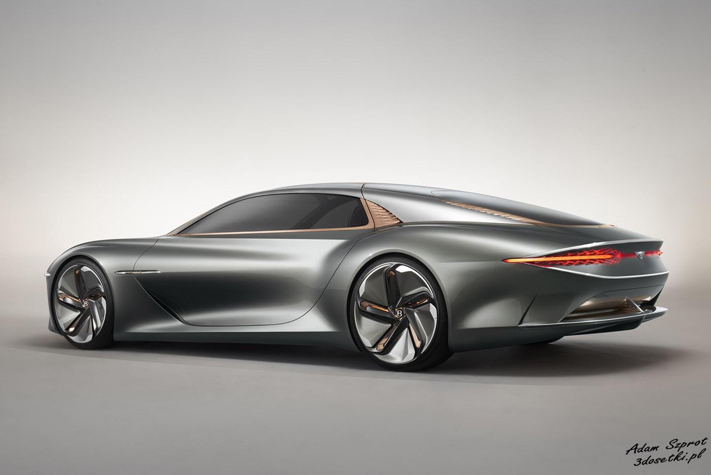 Bentley EXP 100 GT - samochód koncepcyjny - testy samochodów