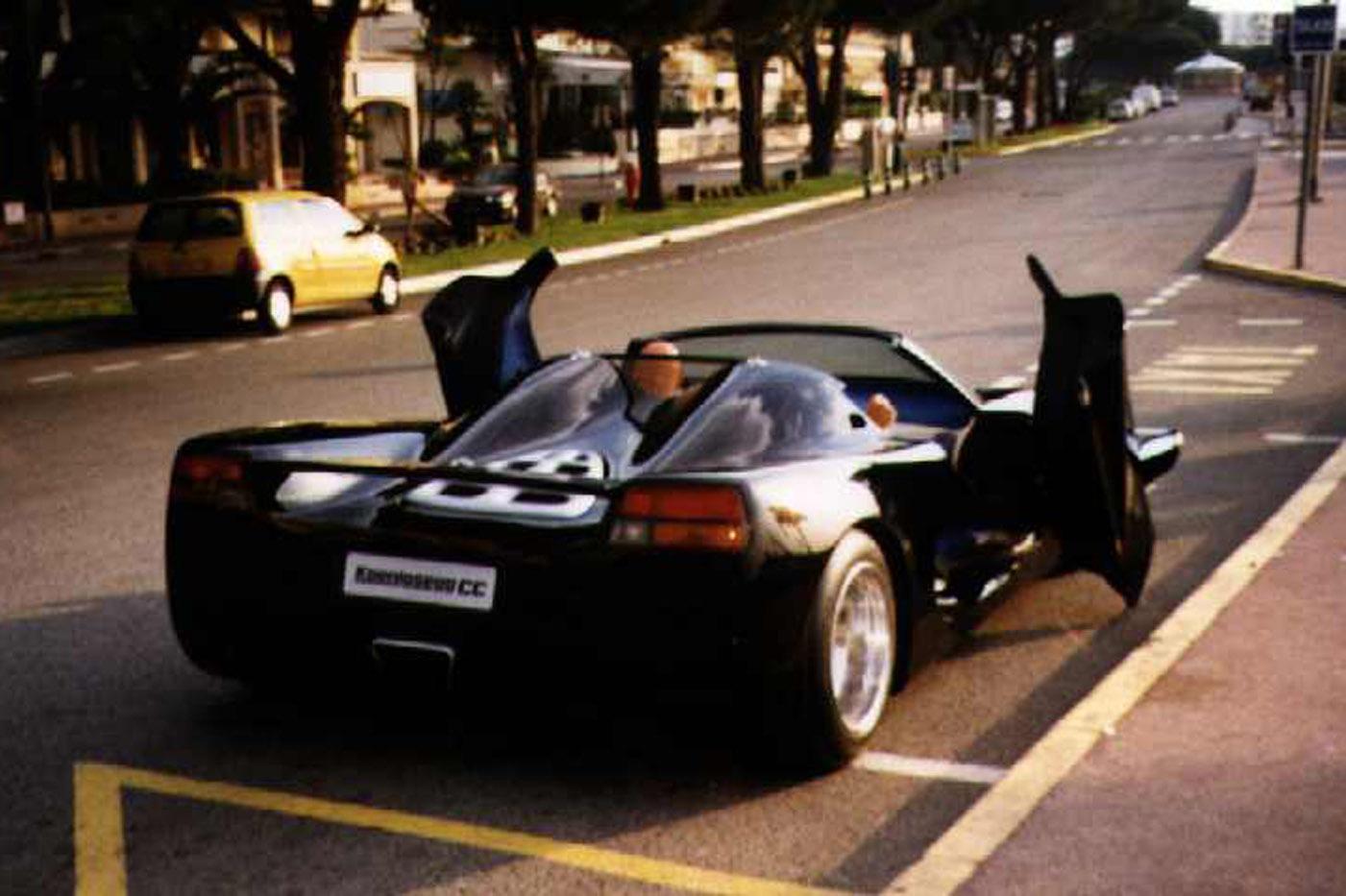Koenigsegg CC, strona motoryzacyjna