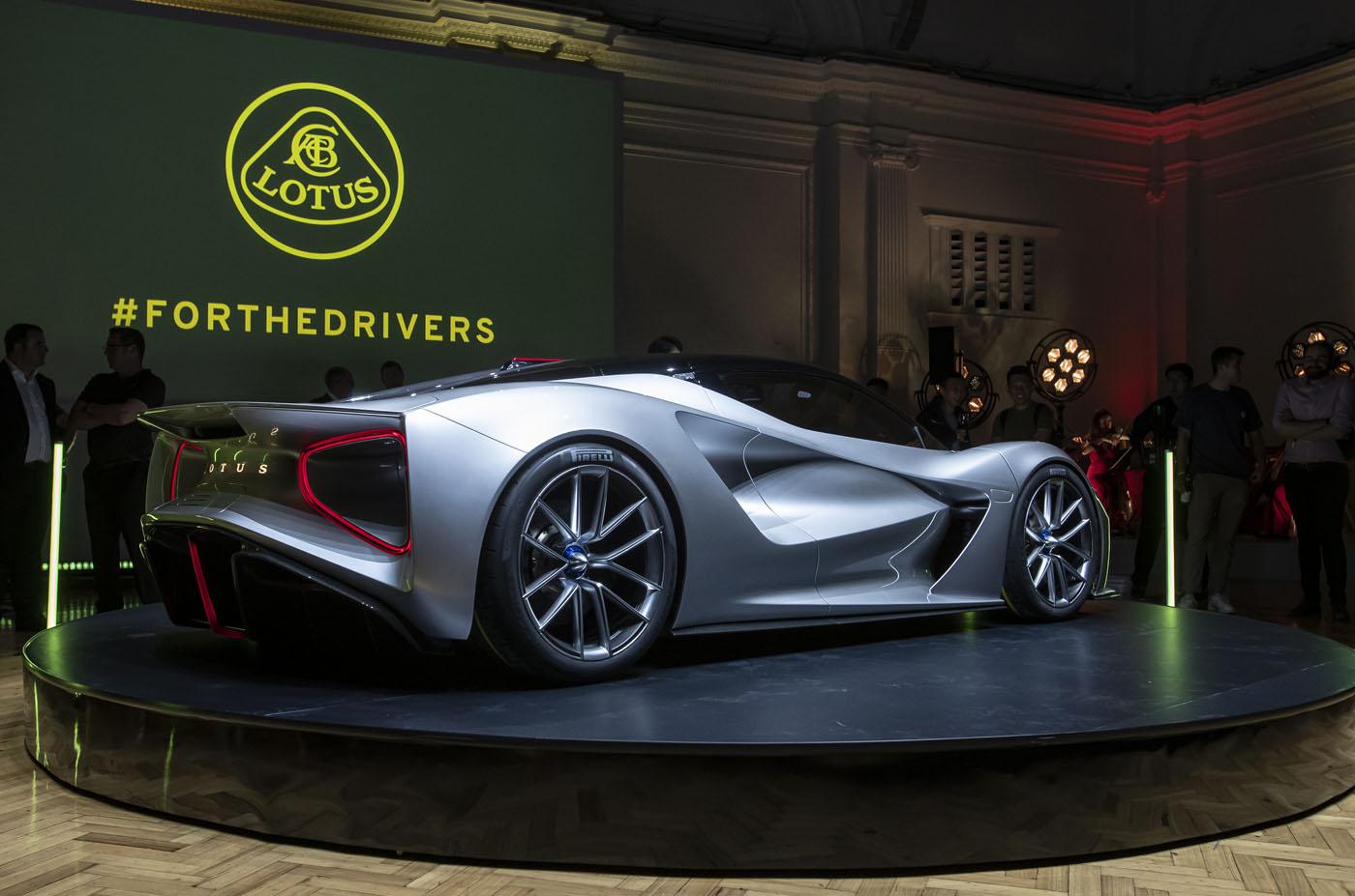Lotus Evija - premiera super-samochodu