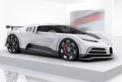 Bugatti Centodieci – duch legendy EB110 w nowym wcieleniu