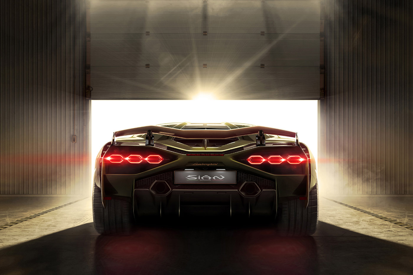 Premiera Lamborghini Sián