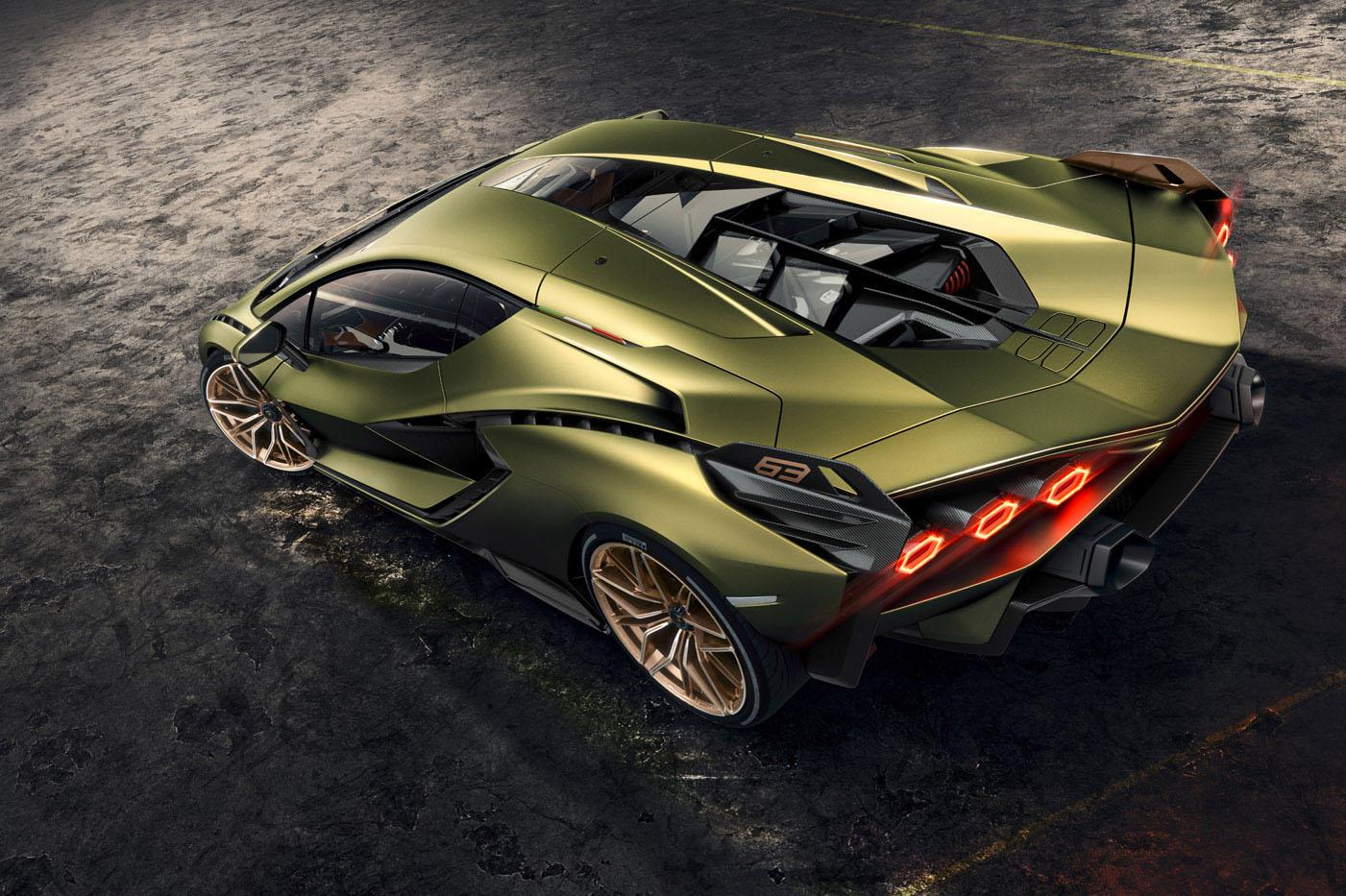 Lamborghini Sián, blog motoryzacyjny
