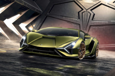 Lamborghini Sián – pierwszy zelektryzowany byk