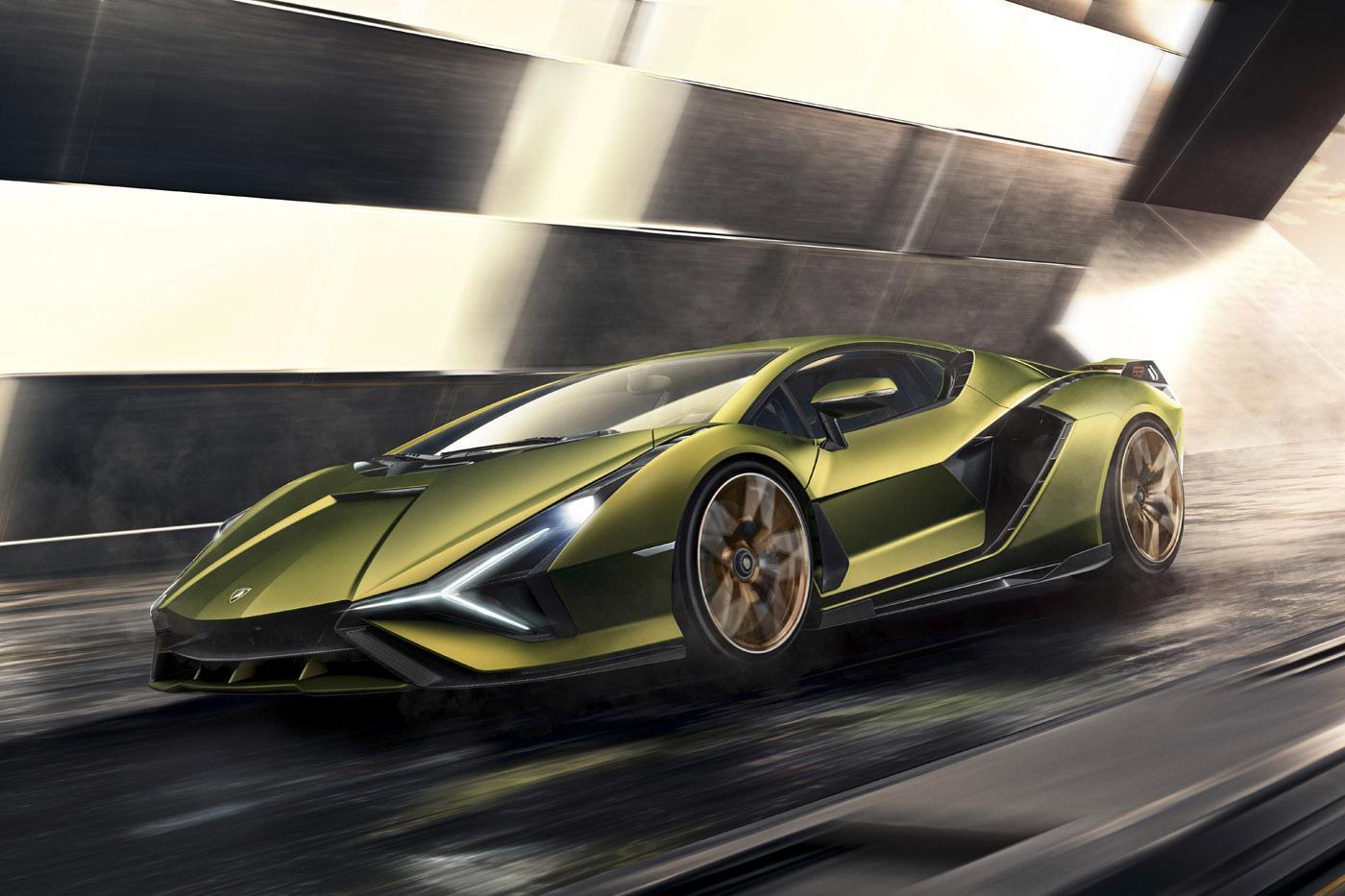 Premiera Lamborghini Sián, artykuły motoryzacyjne