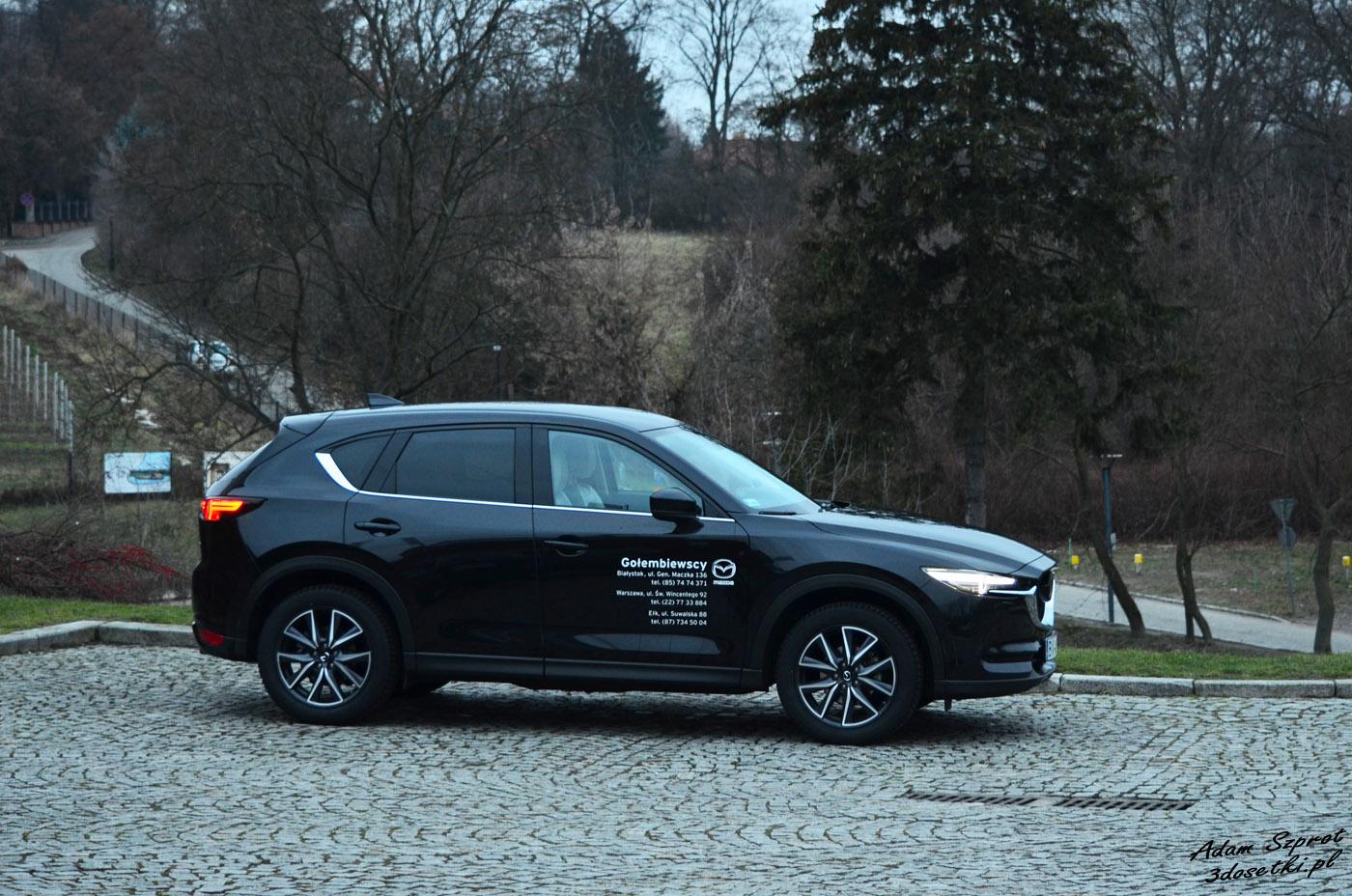 Test Mazda CX-5, zaskaujący SUV