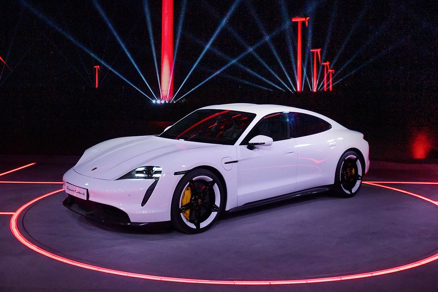 Porsche Taycan - premiera