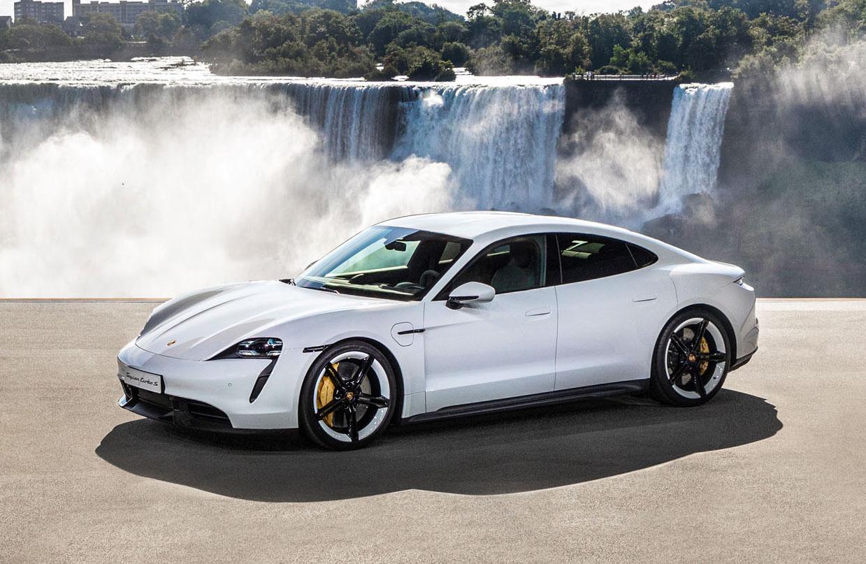Porsche Taycan – pierwsze w pełni elektryczne Porsche
