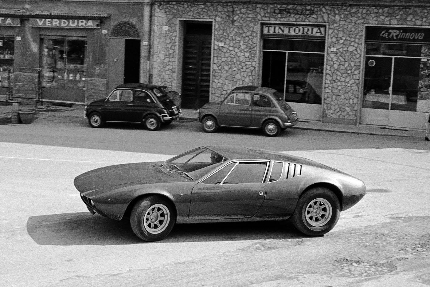De Tomaso Mangusta, blog motoryzacyjny