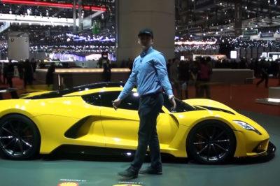 Hennessey Venom F5 – film o aucie, które będzie próbowało być najszybsze na świecie