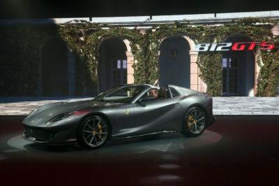 Ferrari 812 GTS – nowy gracz z potężnym V-12 z przodu