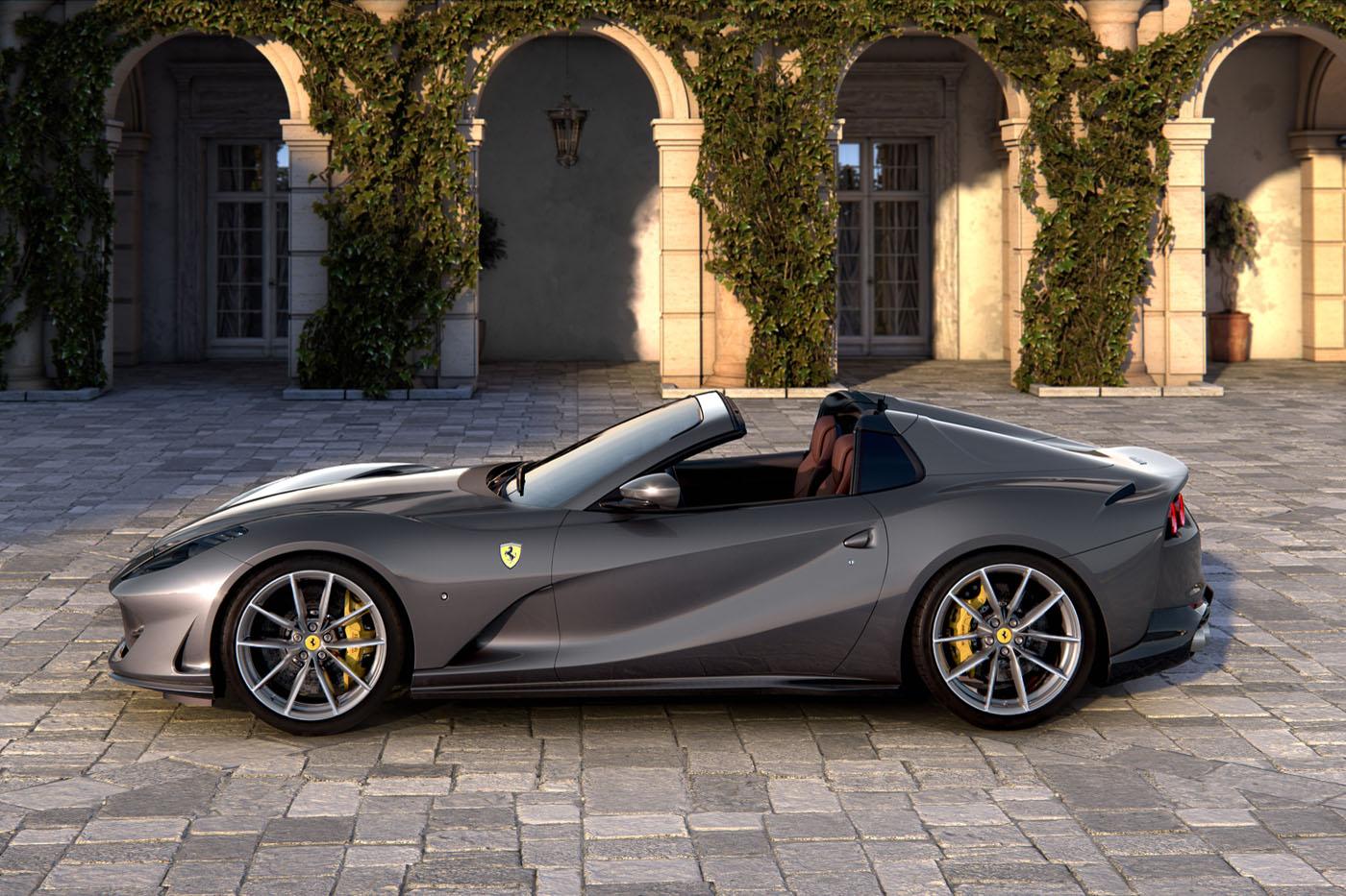 Premiera Ferrari 812 GTS