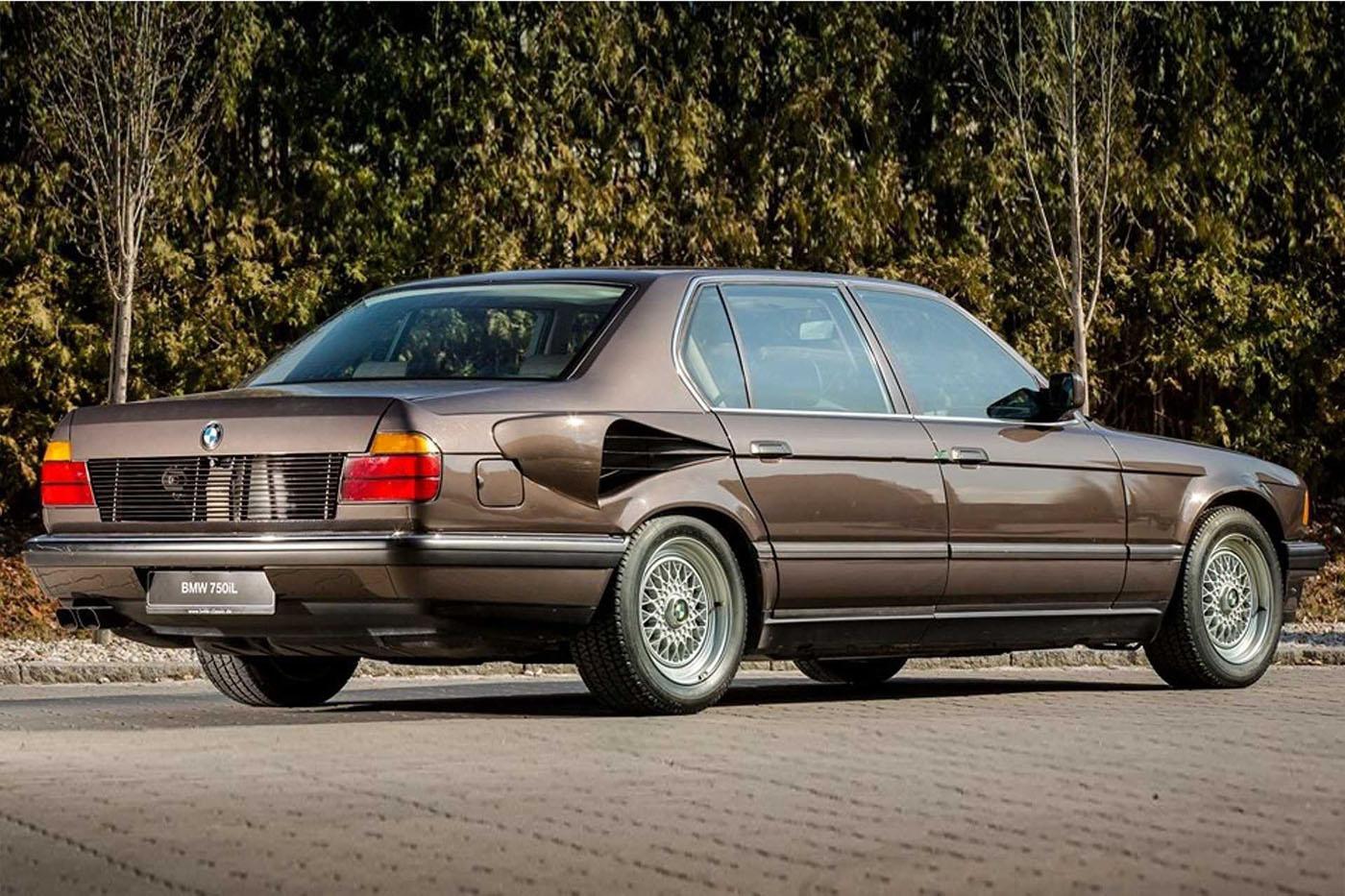 BMW 7 Goldfisch