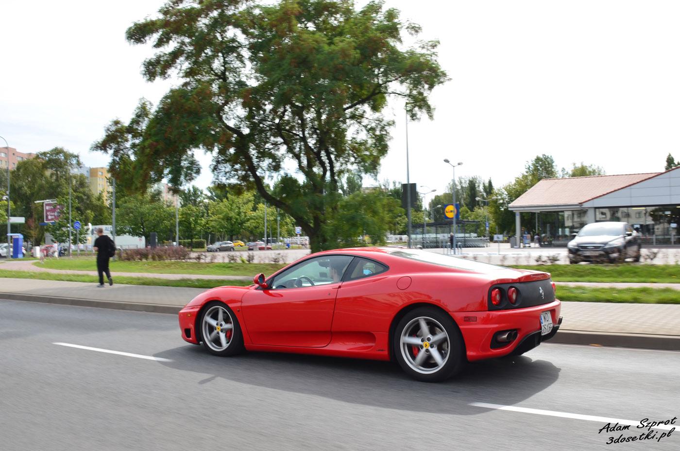 Ferrari 360 Modena, blog motoryzacyjny